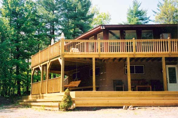 3 Story Deck Home Design