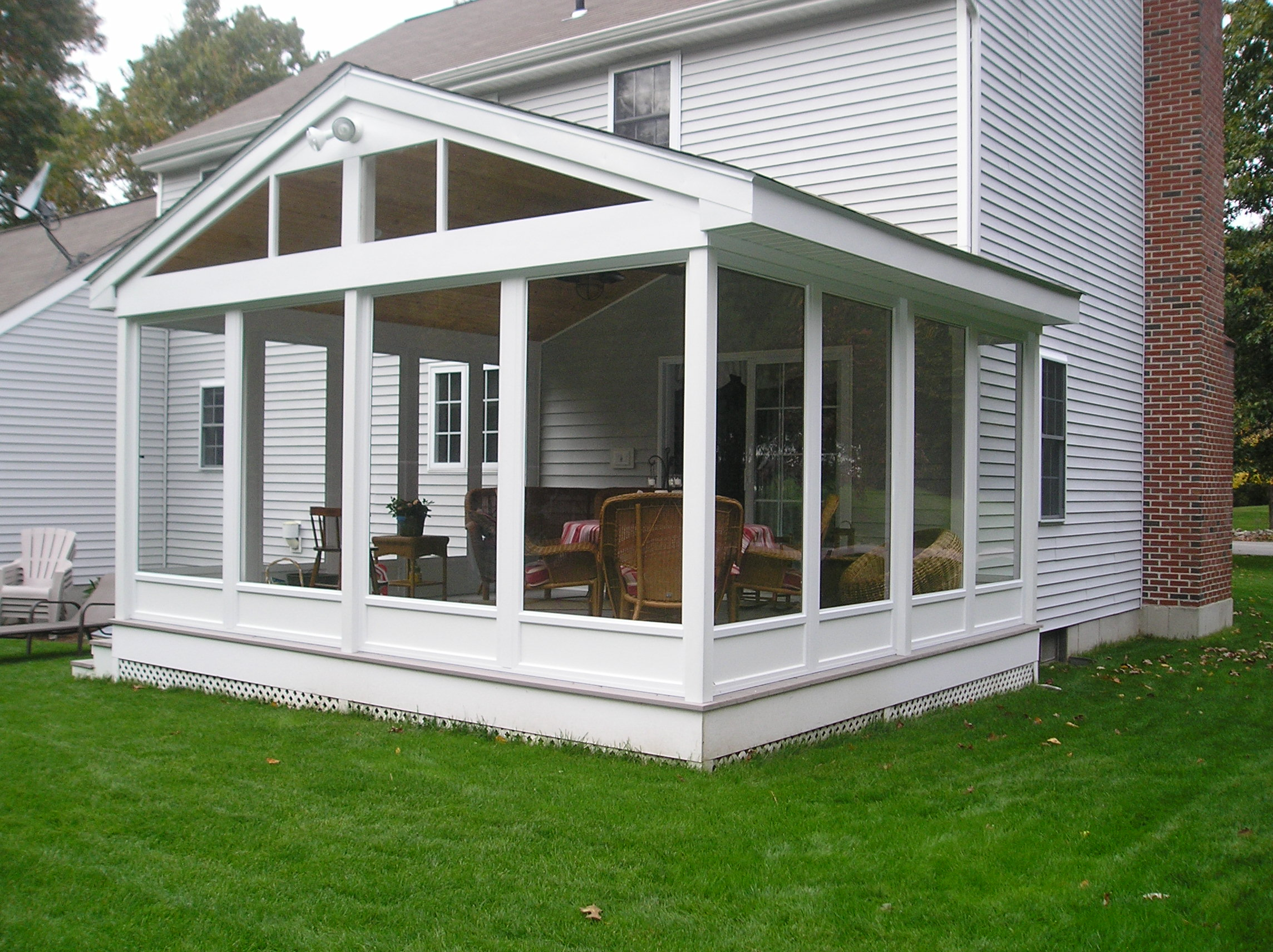 enjoy a new sunroom free of mosquitos allen remodeling