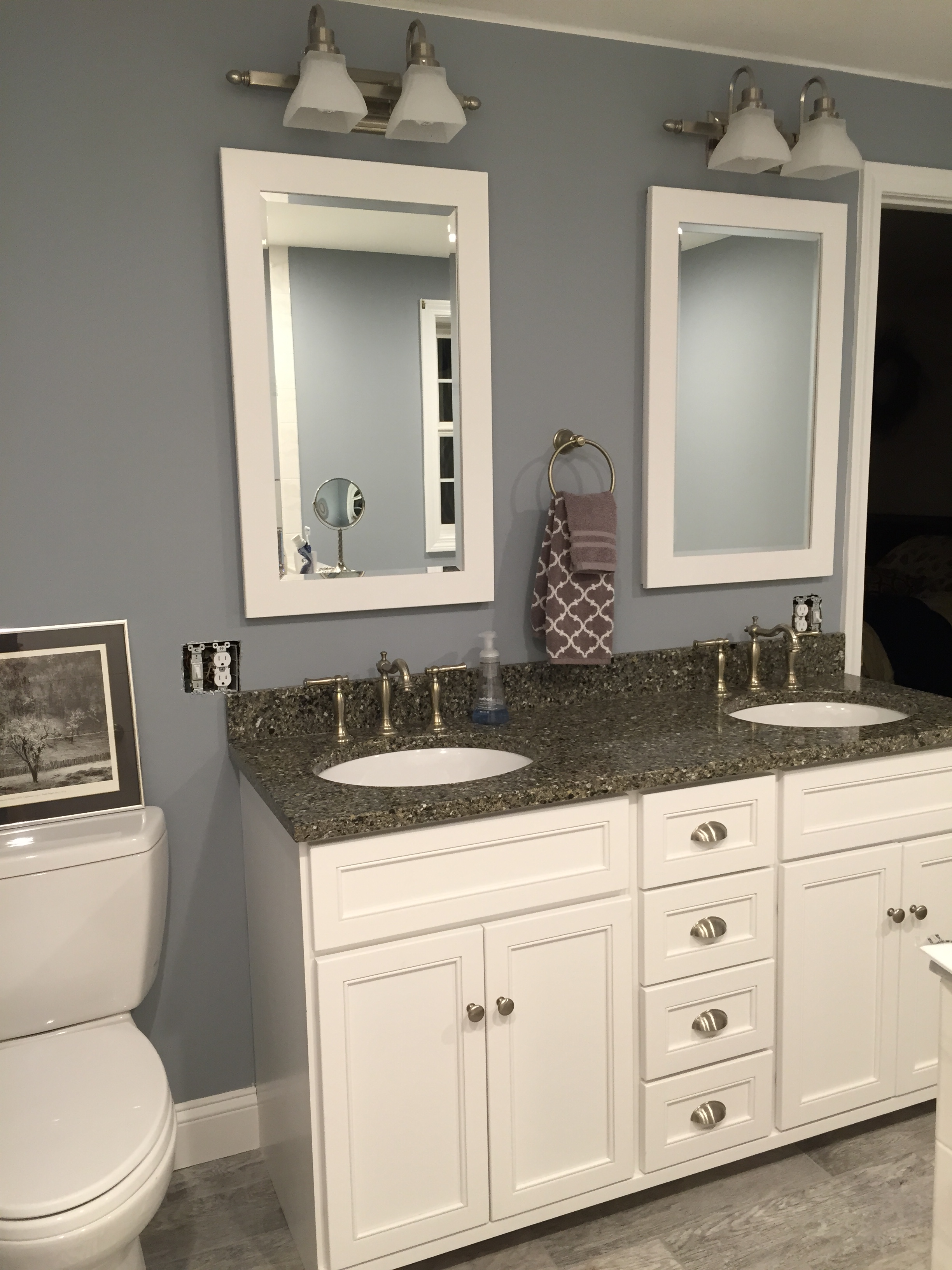 Bathroom Remodel Nh amherst nh bathroom remodel is complete!! | allen remodeling
