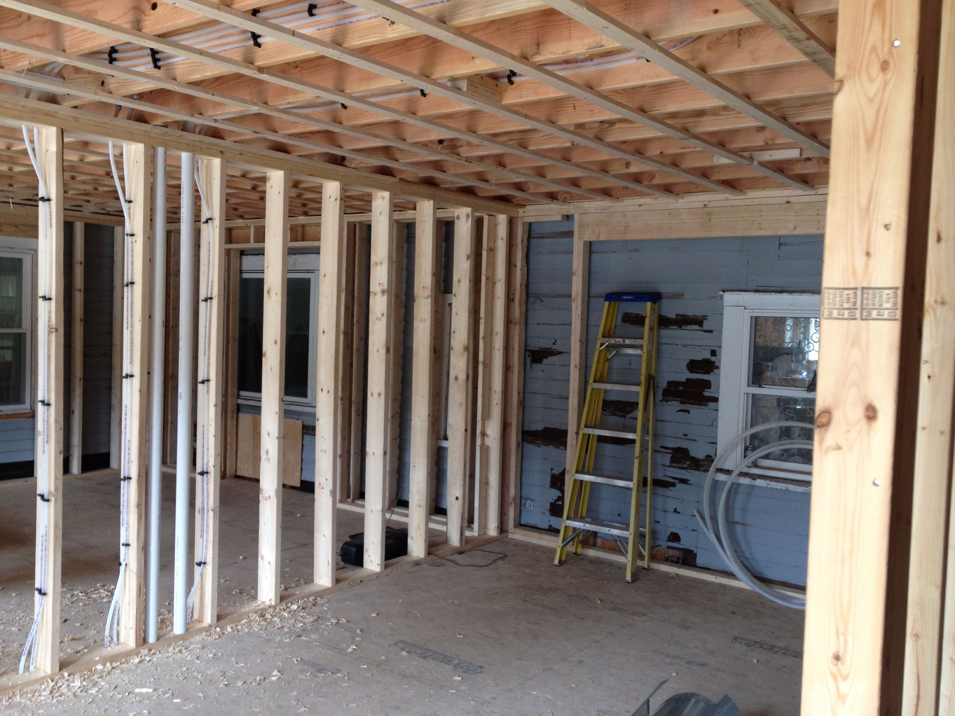 Lyndeborough inspections have passed for frame electric and plumbing allen remodeling for Framing interior basement walls